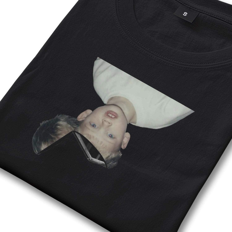 Tee Shirts Jersey Fashion Cotton Short Sleeve Men Machine-Gun-Kelly-MGK-Hotel-Diablo