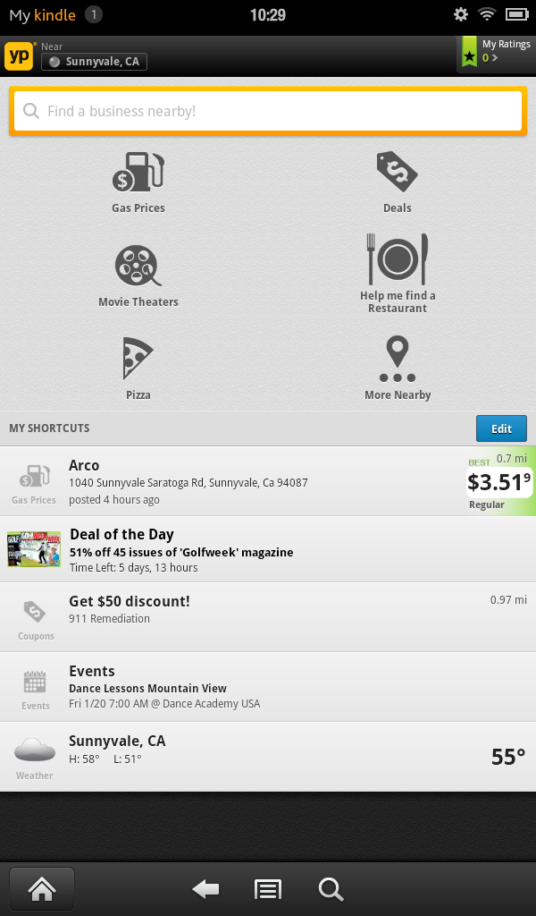 Amazon.com: YP Local Search and Gas Prices: Appstore for Android