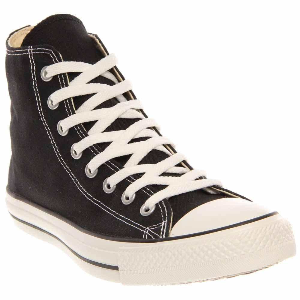 Converse Chuck Taylor All Star Canvas High Top Sneaker, Black, 6.5 US Men/8.5 US Women