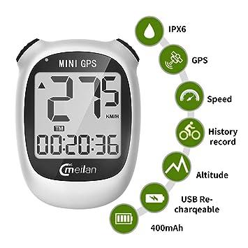 Computadora de Bicicleta GPS, Mini velocímetro y odómetro ...