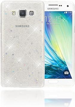 NALIA Funda Compatible con Samsung Galaxy A5 2015, Purpurina ...