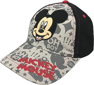 Disney Gorra de b¨¦isbol de Mickey Mouse Boys [2013]: Amazon.es ...