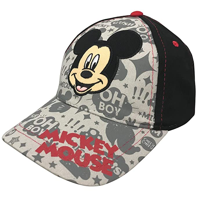 5d51b6e675acd Image Unavailable. Image not available for. Color  Disney Little Boys Mickey  Mouse Baseball Cap ...