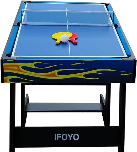 IFOYO - Mesa de juego multifunción 4 en 1 (48 pulgadas), Multicolor: Amazon.es: Deportes y aire libre