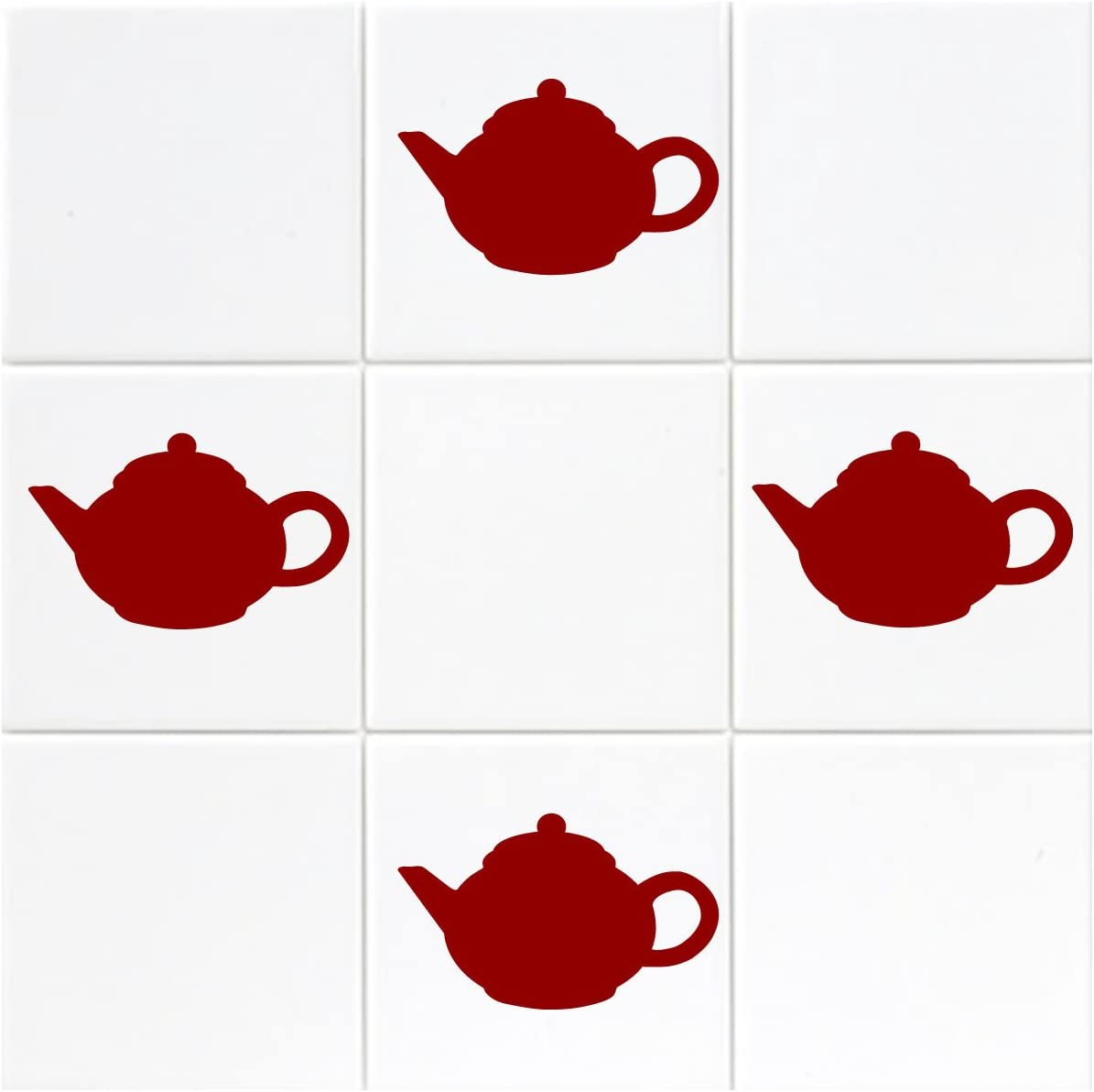 Shop Stickers ZygoMax 12 x Coffee Cup Tile//Mirror//Window Stickers Kitchen Cafe