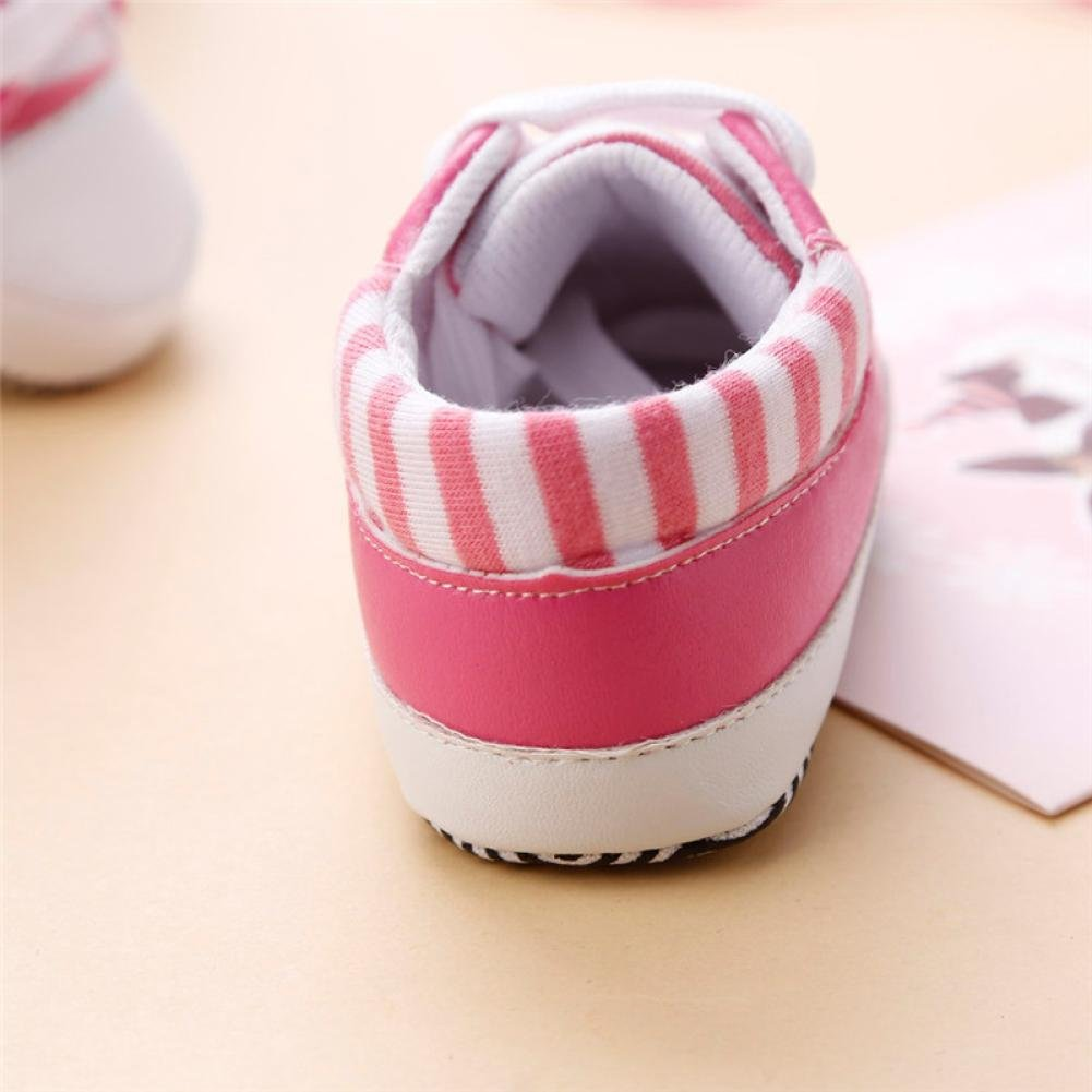 Crib Shoes Fabal Toddler Baby Girls Boys Soft Sole Shoes Non-slip Sneakers 0-18M Bandage Shoes