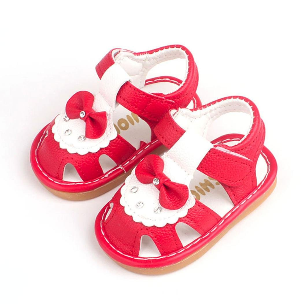 Voberry/® B/éb/é Gar/çon Filles Soft Grin/çant Chaussures D/Ét/é Mode Enfants Cartoon Premiers Marcheurs Sandales de Chaussures Antid/érapantes /à Semelles Souples