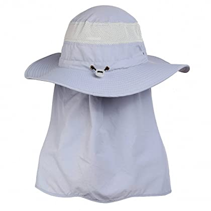 843ab992be2 ... DDYOUTDOOR 07-281 Fashion Summer Outdoor Sun Protection Fishing Cap  Neck Face Flap Hat Wide ...