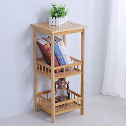 HQQ Vintage Flower Stand Rack Multifunción Dispensador de Agua Estante de Madera Chino Flower Stand Estante