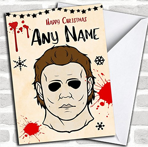 Michael Myers Halloween Personalized Christmas (Correct Spelling Of Halloween)