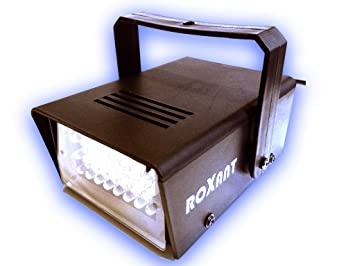 Roxant Pro Mini LED Strobe Light with 24 Super Bright LEDs With Variable on horn strobe wiring diagram, motorcycle light wiring diagram, fog machine wiring diagram, led strobe switch, speaker strobe wiring diagram, strobe light wiring diagram, led strobe circuit diagram, led strobe turn signals,