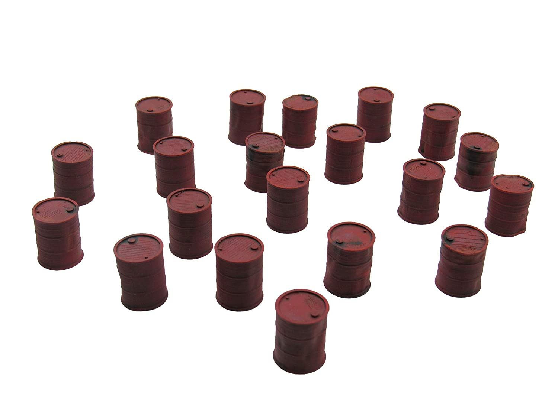 Assorted Battered Barrels, Terrain Scenery for Tabletop 28mm ...