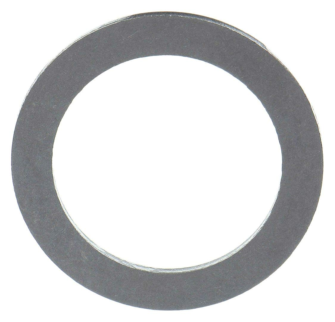 Steel Round Shim, Matte Finish, Full Hard Temper, 0.005'' Thickness, 1-3/8'' ID, 1-7/8'' OD (Pack of 10) by Small Parts