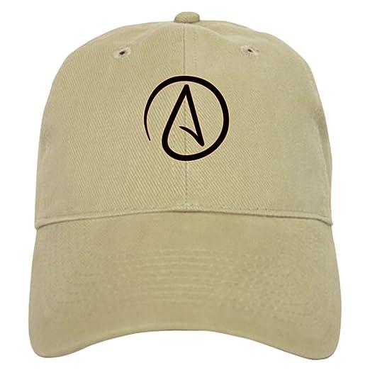 b7b7d39d0d1 CafePress - Atheist Symbol Cap - Baseball Cap with Adjustable Closure