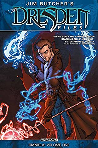 book cover of Jim Butcher\'s The Dresden Files Omnibus Volume 1