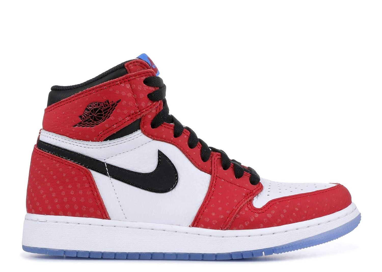Amazon.com   Air Jordan 1 Ret Hi Og (Gs) Spiderman - 575441-602 - Size 7   Basketball
