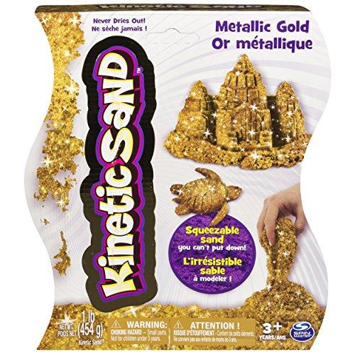 Kinetic Sand 1lb Metallic Gold product image