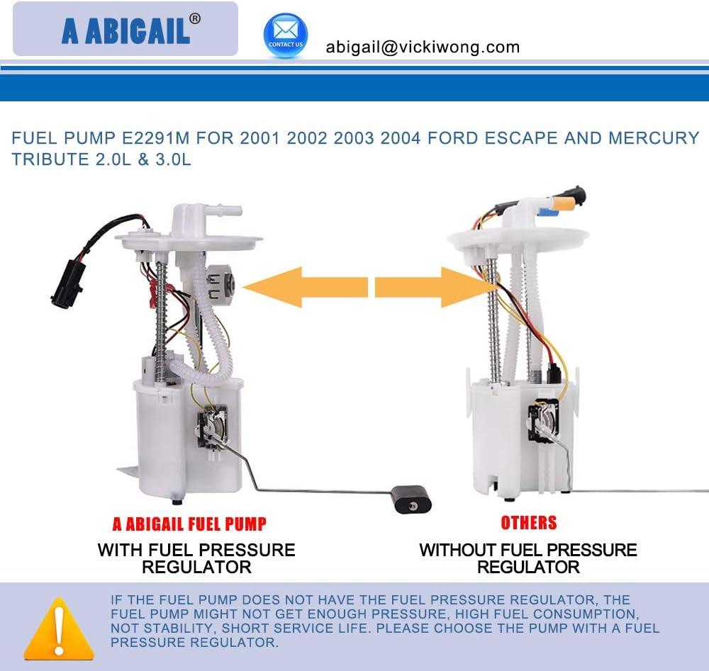 Airtex E2291M Fuel Pump For 2001-2004 Ford Escape Electric w// Sending Unit