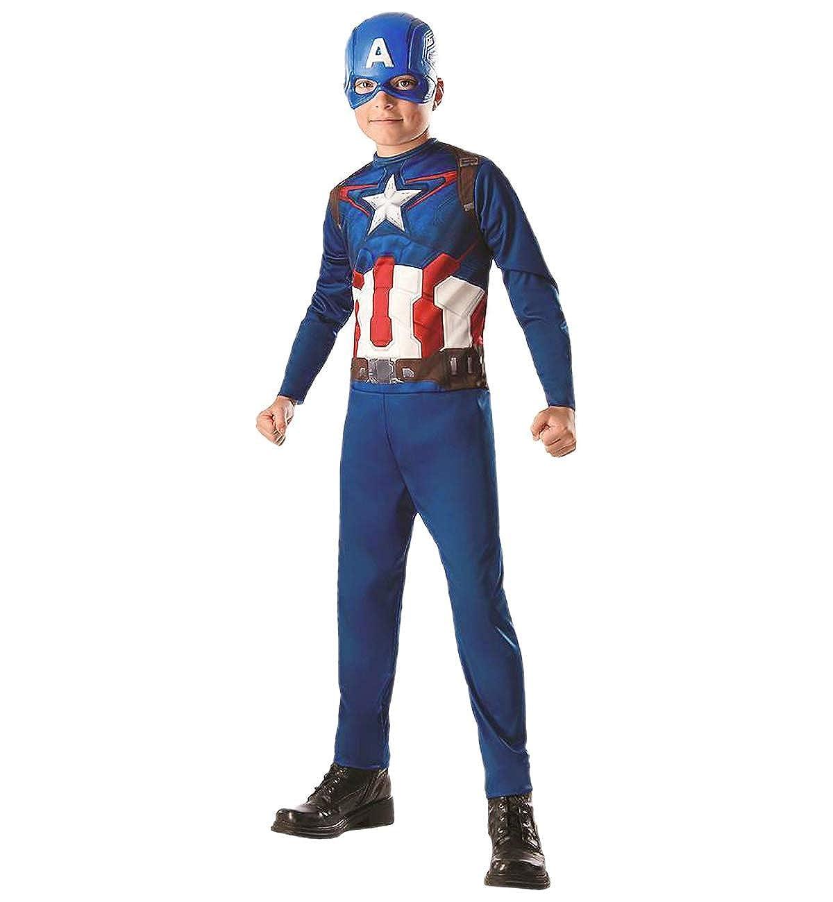 デラックスCaptain America Child Costume – Medium   B07FJR5GY8