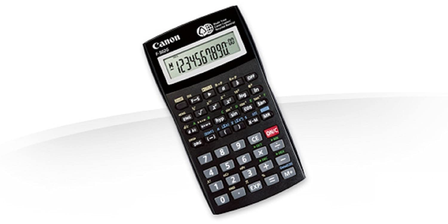 Canon F 502g Calculator Manual Free Owners Manual