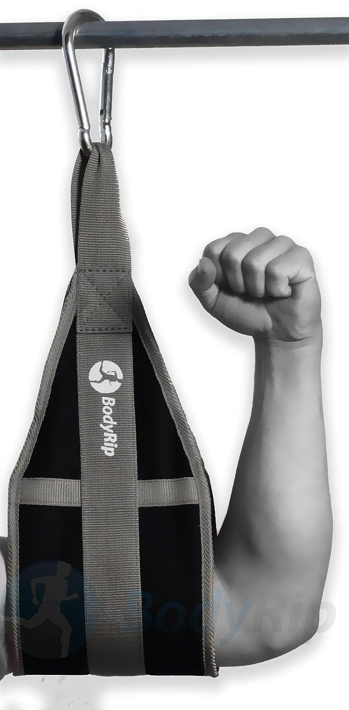 Comfortable Padding Home Gym Equipment With Heavy-Duty Steel Hook BodyRip Abdominal Slings