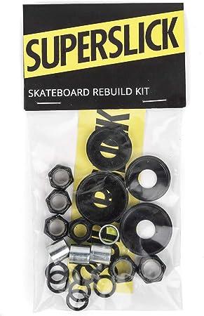 Schrauben und Zubehör im Set Superslick Skateboard Hardware Rebuild Kit