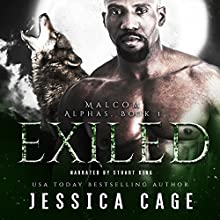 Exiled: The Alphas, Book 1 Audiobook by Jessica Cage Narrated by Stuart King