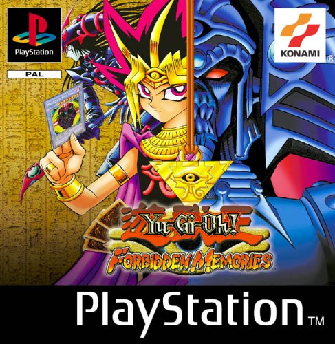 PS1 PAL Yu Gi Oh Forbidden Memories