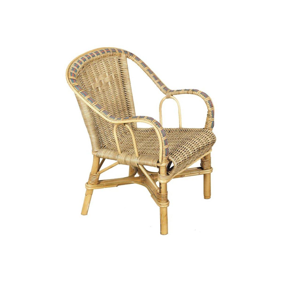 genuina alta calidad Aubry Gaspard Gaspard Gaspard NFE 1350 sillón Infantil de ratán  tienda hace compras y ventas