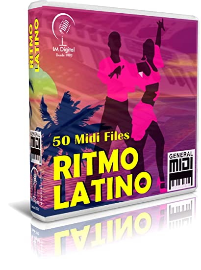 Ritmo Latino - Pendrive USB OTG para Teclados Midi, PC, Móvil, Tablet,