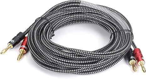 Amazon com: Crutchfield 14 Gauge Speaker Wire 15 Foot, 2
