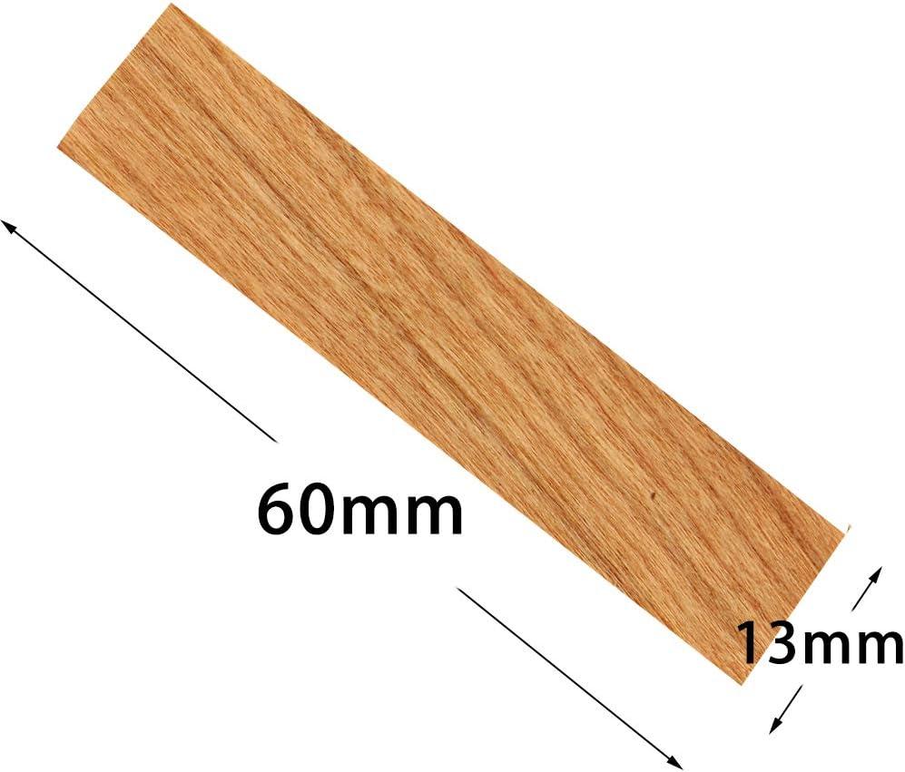 UPlama 100 PCS Wood Candle Wicks