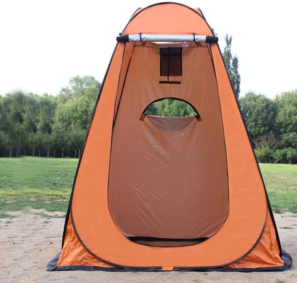 Tentes intimit/é Tentes /éph/ém/ères portables avec sac de transport Pliable Vestiaire instantan/é Tente de douche de camping Toilette de camp pour la randonn/ée en plein air Robuste L/ég/ère