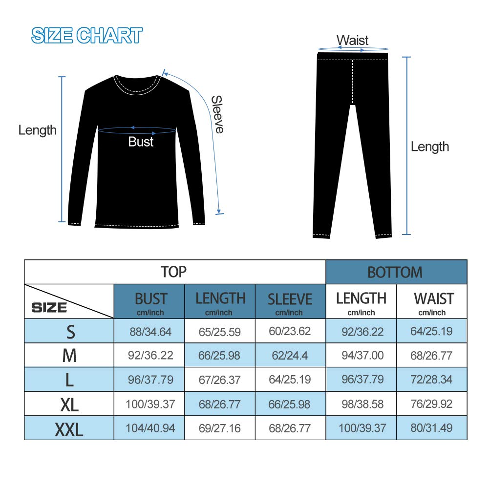 MeetHoo Thermal Underwear for Women Winter Warm Base Layer Compression Set Fleece Lined Long Johns Running Skiing