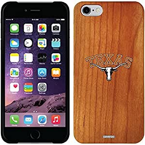 Coveroo iphone 6 4.7 Madera Wood Thinshield Case with University of Texas Longhorn Emblem Design