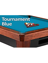 8u0027 Oversized Simonis 860 Tournament Blue Billiard Pool Table Cloth Felt