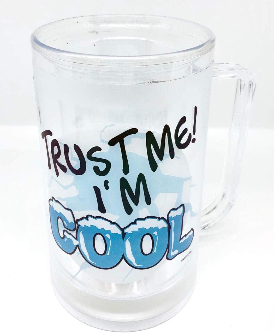 Jarra de doble pared con agua para congelador Trust Me I«m Cool
