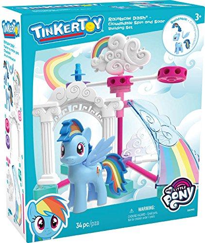 amazon com k nex my little pony rainbow dash clouds dale building