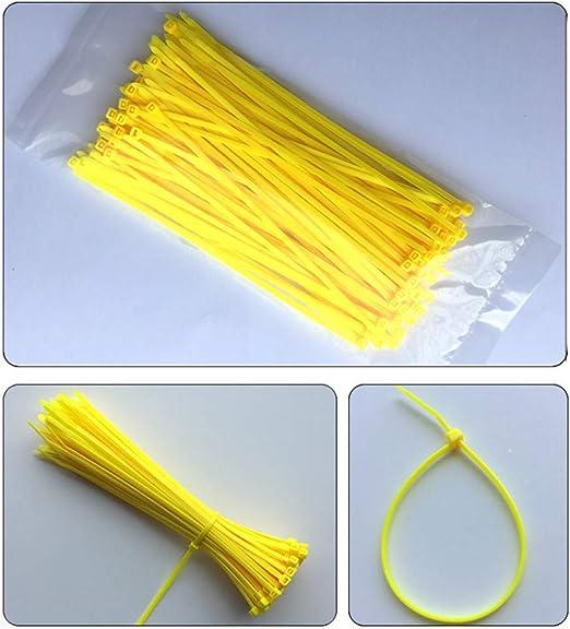 ZADAI Bridas 100 Piezas De Color 3 * 150 Mm Corbata De Plástico ...