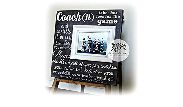 Amazon.com: Personalized Coach Thank You Gift, Coach Gift Ideas ...