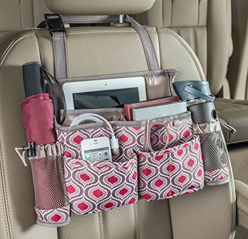 High Road SwingAway Car Front Seat Driver Organizer - Sahara - Swing Away Seat