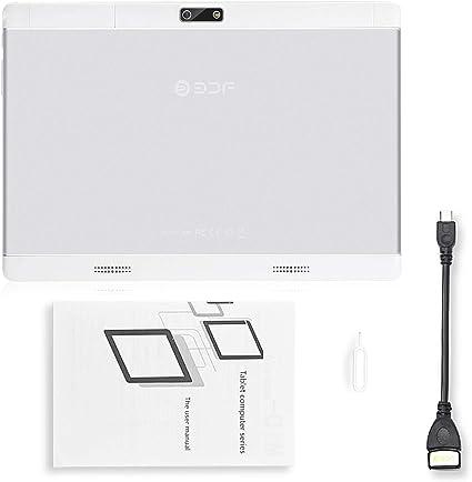 Smartphone 3G Original de 10 Pulgadas, Android 7.0, MTK 6580, Quad Core, Android IPS, Tablet WiFi 4 G + 32 G para Android Tablet 4 GB 32 GB (Negro): Amazon.es: Electrónica