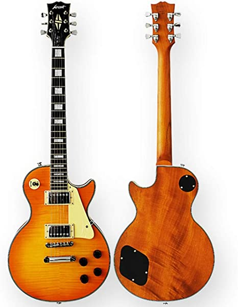 Boll-ATur 22 trastes bajo eléctrico tigre chapa guitarra eléctrica ...