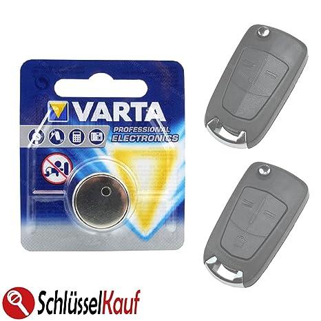 Varta Llave de Coche batería para Opel Astra H, Corsa D ...