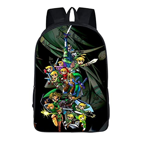 The Legend of Zelda - Mochila para portátil, diseño de Anime ...