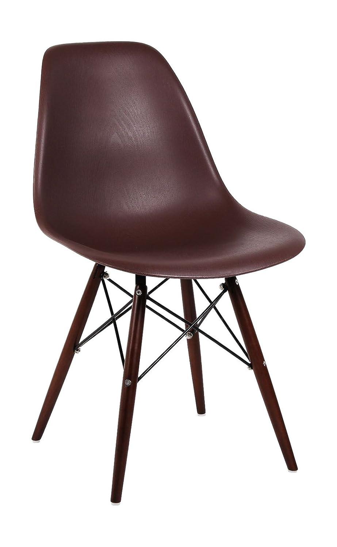 SuperStudio Lo + de Moda Wooden Elegance Brown Silla, Marrón ...