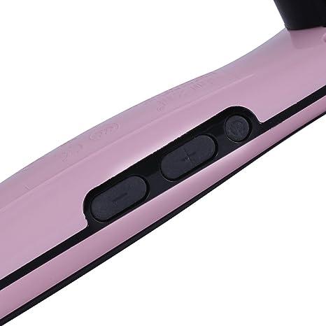 GHB NASV-100 Alisador de Pelo Cepillo Eléctrico LCD Pantalla Planchas de Cerámica -Rosa: GHB: Amazon.es: Electrónica