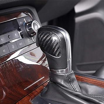 Genuine Carbon Fiber Car Gear Shifter Headgear Organiser Additives For Touareg 2011 2018 Onway Auto
