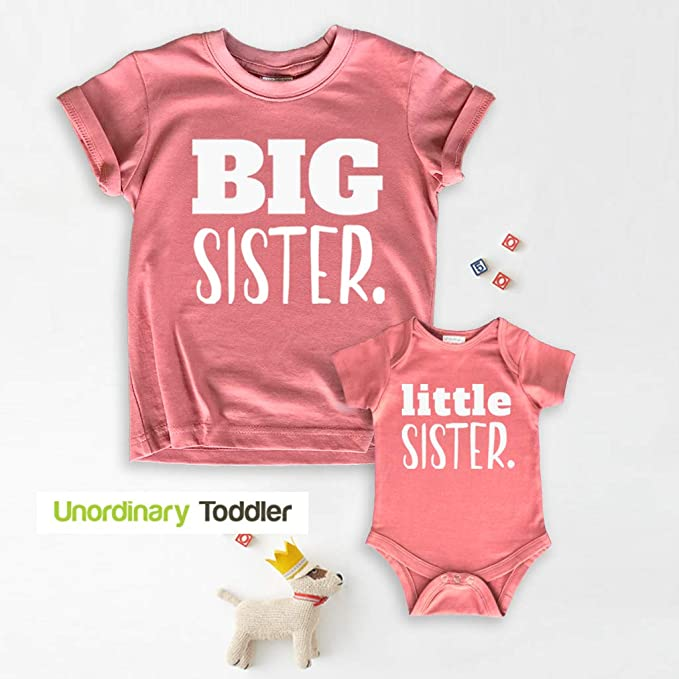Cute Baby Clothes Baby Announcent Pregnancy Family Shirts Little Sister Shirt Sister Gifts Baby Girl Clothes Little Sister Onesie\u00ae