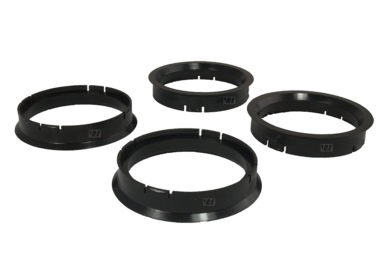 4 Zentrierringe 72, 6 mm - 67, 1 mm WhiteLabel